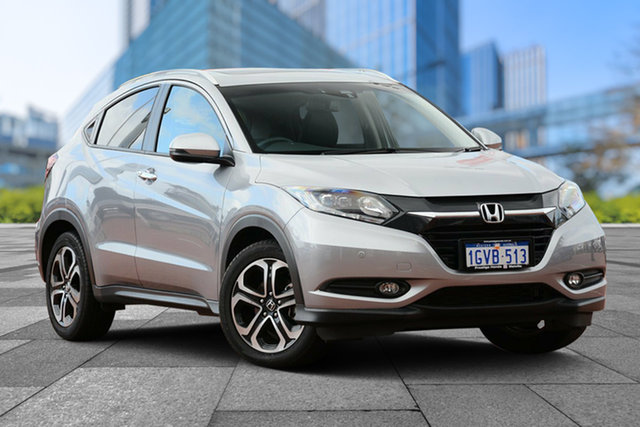 Used Honda HR-V MY17 VTi-L, 2018 Honda HR-V MY17 VTi-L Lunar Silver 1 Speed Constant Variable Hatchback