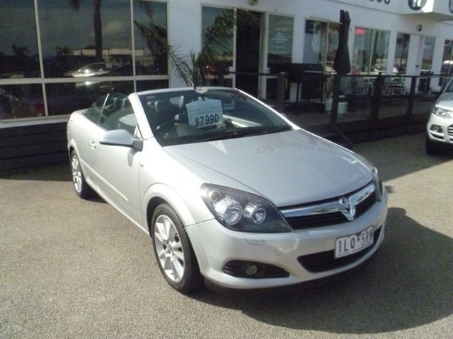 Used Holden Astra AH MY09 Twin TOP, 2008 Holden Astra AH MY09 Twin TOP Silver 4 Speed Automatic Convertible