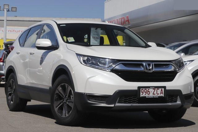Demo Honda CR-V RW MY19 Vi FWD, 2019 Honda CR-V RW MY19 Vi FWD Frost White 1 Speed Constant Variable Wagon
