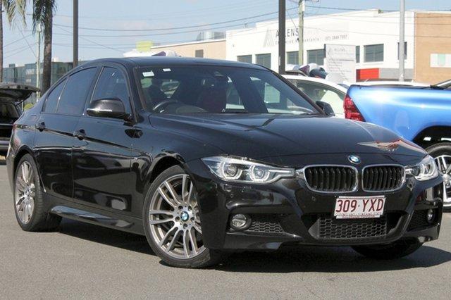 Used BMW 3 Series F30 LCI , 2016 BMW 3 Series F30 LCI Black/Grey 8 Speed Sports Automatic Sedan