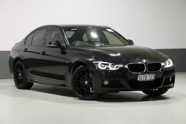 Used BMW 330i F30 LCI M Sport, 2018 BMW 330i F30 LCI M Sport Black 8 Speed Automatic Sedan