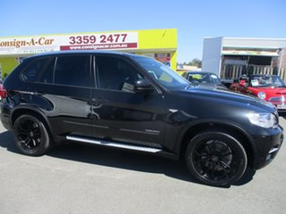 2012 BMW X5 E70 MY12 xDrive30d Steptronic Black 8 Speed Sports Automatic Wagon.