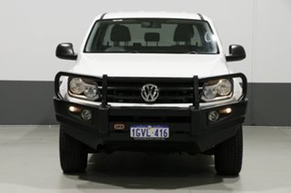 2015 Volkswagen Amarok 2H MY15 TDI420 Core Edition (4x4) White 8 Speed Automatic Dual Cab Chassis.