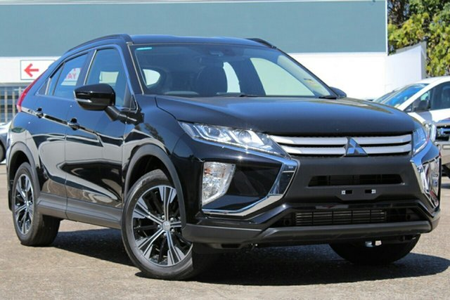 New Mitsubishi Eclipse Cross YA MY20 ES (2WD) Blacktown, 2020 Mitsubishi Eclipse Cross YA MY20 ES (2WD) Black Continuous Variable Wagon