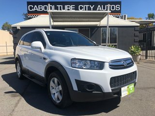 2012 Holden Captiva CG Series II 7 SX White 6 Speed Sports Automatic Wagon.