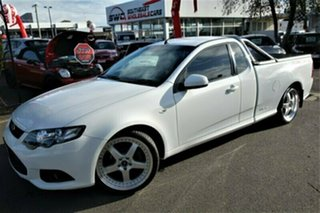 2012 Ford Falcon FG MkII XR6 Ute Super Cab EcoLPi White 6 Speed Sports Automatic Utility.