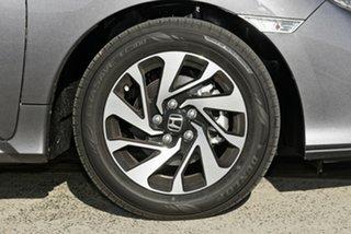 2018 Honda Civic 10th Gen MY18 VTi-S Modern Steel 1 Speed Constant Variable Hatchback.