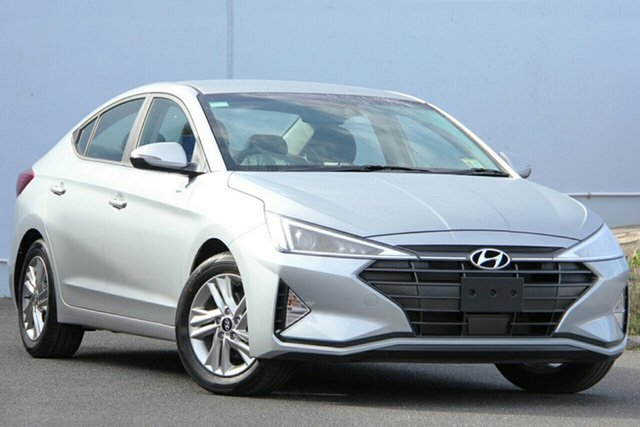 New Hyundai Elantra AD.2 MY19 Active, 2019 Hyundai Elantra AD.2 MY19 Active Platinum Silver 6 Speed Sports Automatic Sedan
