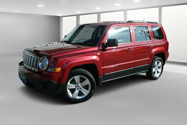 Used Jeep Patriot MK MY2012 Sport CVT Auto Stick 4x2, 2012 Jeep Patriot MK MY2012 Sport CVT Auto Stick 4x2 Burgundy 6 Speed Constant Variable Wagon