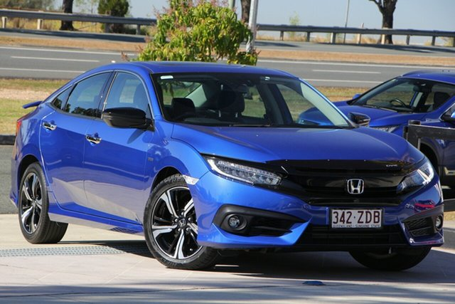 Used Honda Civic 10th Gen MY16 RS, 2016 Honda Civic 10th Gen MY16 RS Blue 1 Speed Constant Variable Sedan