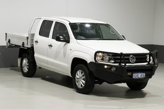2015 Volkswagen Amarok 2H MY15 TDI420 Core Edition (4x4) White 8 Speed Automatic Dual Cab Chassis