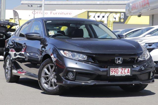 Demo Honda Civic 10th Gen MY19 VTi-S, 2019 Honda Civic 10th Gen MY19 VTi-S Cosmic Blue 1 Speed Constant Variable Sedan