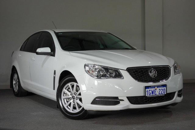 Used Holden Commodore VF II MY17 Evoke, 2017 Holden Commodore VF II MY17 Evoke White 6 Speed Sports Automatic Sedan