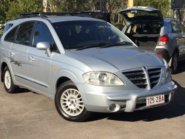 Used Ssangyong Stavic A100 Limited, 2007 Ssangyong Stavic A100 Limited Silver 5 Speed Sports Automatic Wagon