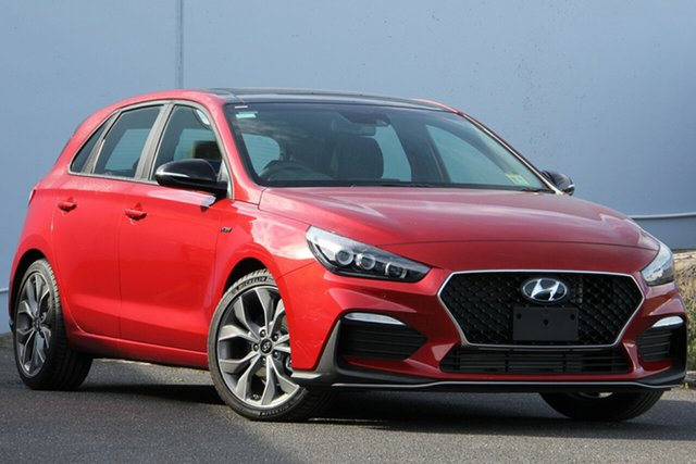 New Hyundai i30 PD.3 MY20 N Line D-CT Premium, 2020 Hyundai i30 PD.3 MY20 N Line D-CT Premium Lava Orange 7 Speed Sports Automatic Dual Clutch