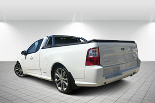 2012 Ford Falcon FG MkII XR6 Ute Super Cab White 6 Speed Sports Automatic Utility