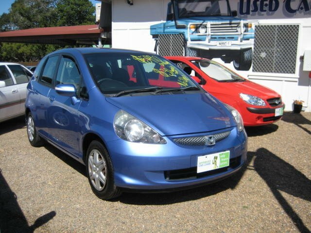 Used Honda Jazz GD VTi, 2006 Honda Jazz GD VTi Blue Automatic Hatchback