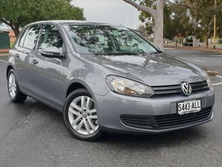 2011 Volkswagen Golf VI MY11 118TSI DSG Comfortline Grey 7 Speed Sports Automatic Dual Clutch.