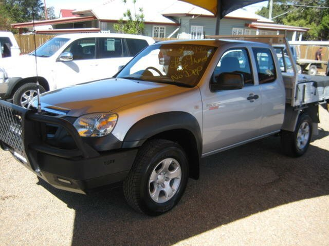 Used Mazda BT-50 UNY0E4 DX+ Freestyle 4x2, 2010 Mazda BT-50 UNY0E4 DX+ Freestyle 4x2 Silver 5 Speed Manual