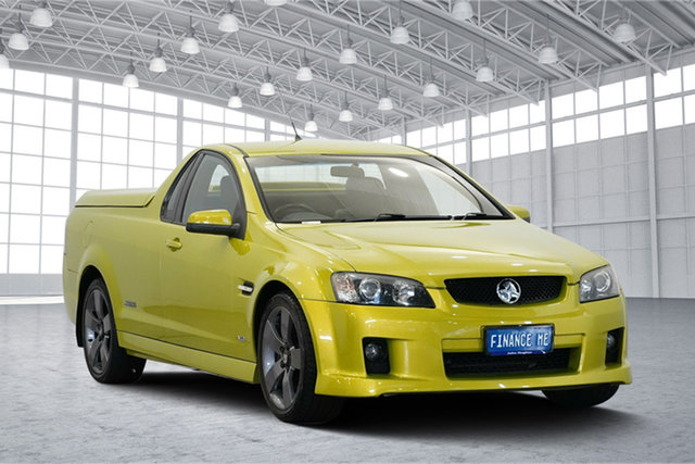Used Holden Ute VE SS V, 2007 Holden Ute VE SS V Yellow 6 Speed Sports Automatic Utility