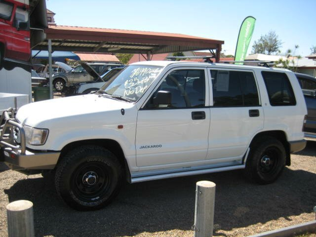 Used Holden Jackaroo U8 MY00 SE, 2000 Holden Jackaroo U8 MY00 SE White 5 Speed Manual Wagon