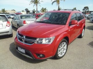 2013 Dodge Journey JC MY14 R/T Red 6 Speed Automatic Wagon.
