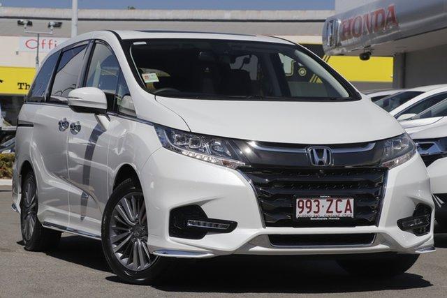Demo Honda Odyssey RC MY19 VTi-L, 2019 Honda Odyssey RC MY19 VTi-L Platinum White 7 Speed Constant Variable Wagon