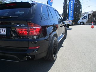 2012 BMW X5 E70 MY12 xDrive30d Steptronic Black 8 Speed Sports Automatic Wagon