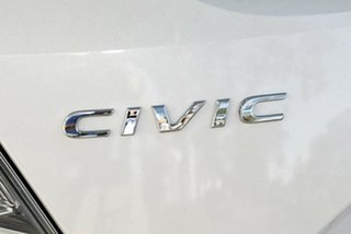 2019 Honda Civic 10th Gen MY19 VTi White Orchid 1 Speed Constant Variable Hatchback