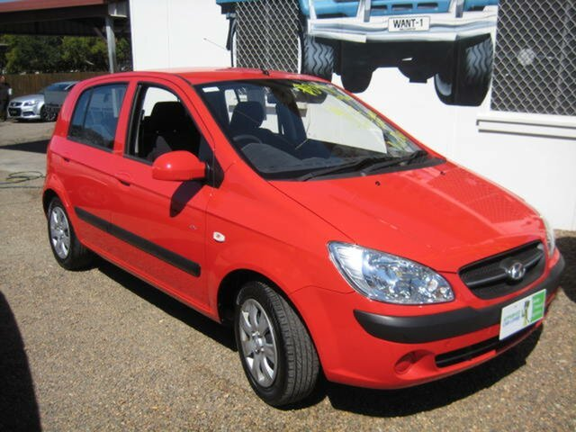 Used Hyundai Getz TB MY09 SX, 2010 Hyundai Getz TB MY09 SX Red Automatic Hatchback