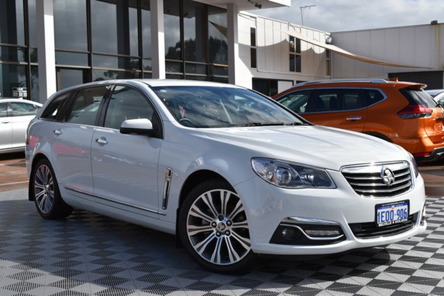Used Holden Calais VF MY15 V Sportwagon, 2014 Holden Calais VF MY15 V Sportwagon White 6 Speed Sports Automatic Wagon