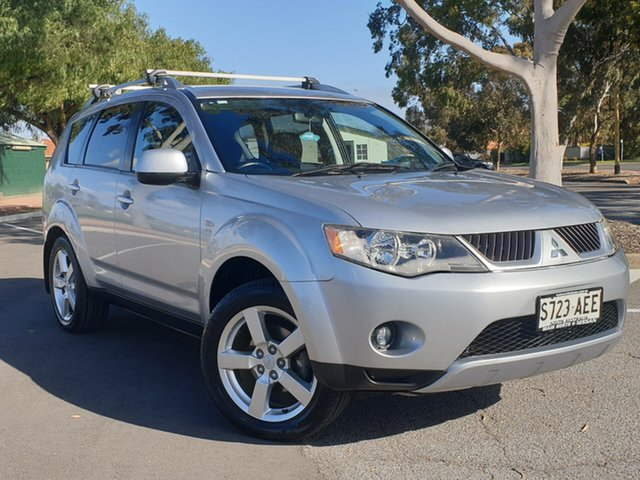 Used Mitsubishi Outlander ZG MY07 XLS, 2007 Mitsubishi Outlander ZG MY07 XLS Silver 6 Speed Constant Variable Wagon