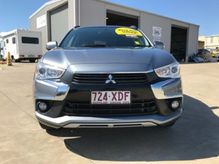 2016 Mitsubishi ASX XC MY17 LS 2WD Grey 6 Speed Constant Variable Wagon