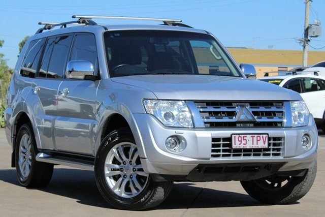 Used Mitsubishi Pajero NW MY13 Exceed, 2013 Mitsubishi Pajero NW MY13 Exceed Silver 5 Speed Sports Automatic Wagon