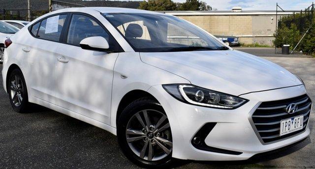 Used Hyundai Elantra AD MY17 Active, 2017 Hyundai Elantra AD MY17 Active White 6 Speed Sports Automatic Sedan