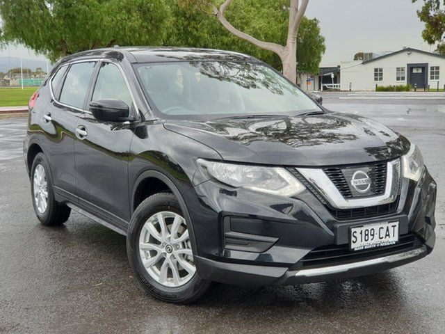 Used Nissan X-Trail T32 Series II ST X-tronic 2WD, 2018 Nissan X-Trail T32 Series II ST X-tronic 2WD Diamond Black 7 Speed Constant Variable Wagon
