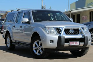 2014 Nissan Navara D40 S7 ST Silver 6 Speed Manual Utility.