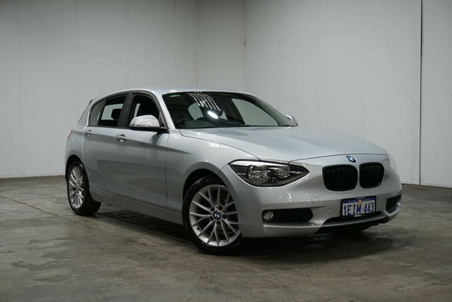 Used BMW 1 Series F20 MY0713 118d Steptronic, 2013 BMW 1 Series F20 MY0713 118d Steptronic Silver 8 Speed Sports Automatic Hatchback