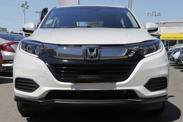 New Honda HR-V MY20 VTi, 2019 Honda HR-V MY20 VTi Platinum White 1 Speed Constant Variable Hatchback