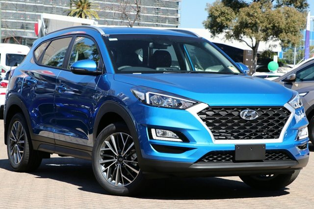 New Hyundai Tucson TL4 MY20 Active X 2WD Burnie, 2020 Hyundai Tucson TL4 MY20 Active X 2WD Aqua Blue 6 Speed Automatic Wagon
