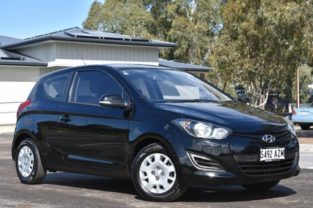 Used Hyundai i20 PB MY13 Active, 2013 Hyundai i20 PB MY13 Active Black 6 Speed Manual Hatchback