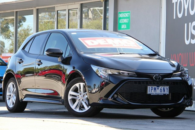 Used Toyota Corolla Mzea12R SX, 2018 Toyota Corolla Mzea12R SX Eclipse Black 10 Speed Constant Variable Hatchback