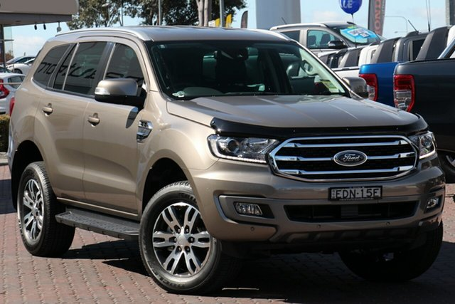 Demo Ford Everest UA II 2019.00MY Trend 4WD, 2019 Ford Everest UA II 2019.00MY Trend 4WD Diffused Silver 6 Speed Sports Automatic Wagon