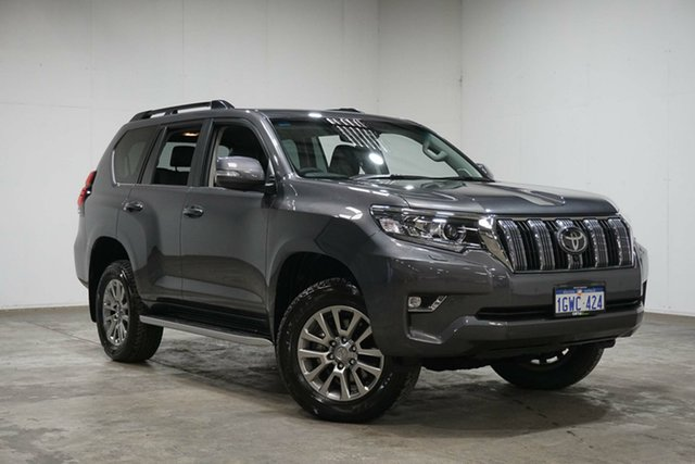 Used Toyota Landcruiser Prado GDJ150R VX, 2019 Toyota Landcruiser Prado GDJ150R VX Graphite 6 Speed Sports Automatic Wagon