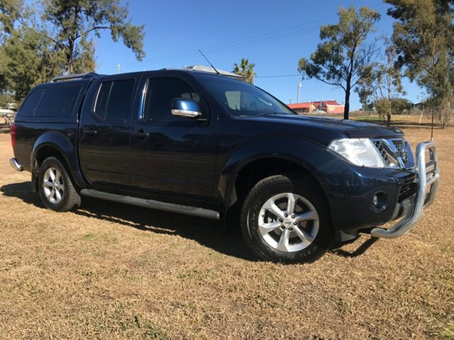 Used Nissan Navara D40 MY12 ST (4x4), 2013 Nissan Navara D40 MY12 ST (4x4) Blue 5 Speed Automatic Dual Cab Pick-up