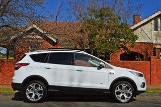 2018 Ford Escape ZG 2018.75MY Titanium PwrShift AWD Frozen White 6 Speed.