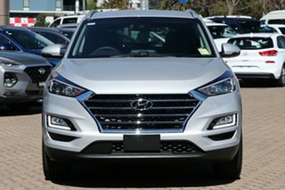 2020 Hyundai Tucson TL3 MY21 Elite AWD Platinum Silver 8 Speed Sports Automatic Wagon