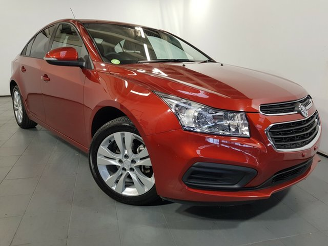 Used Holden Cruze JH Series II MY16 Equipe, 2015 Holden Cruze JH Series II MY16 Equipe Red 6 Speed Sports Automatic Sedan