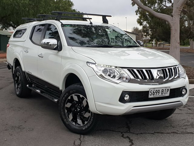 Used Mitsubishi Triton MQ MY16 Exceed Double Cab, 2015 Mitsubishi Triton MQ MY16 Exceed Double Cab White 5 Speed Sports Automatic Utility