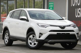 2018 Toyota RAV4 ASA44R GX AWD Glacier White 6 Speed Sports Automatic Wagon.